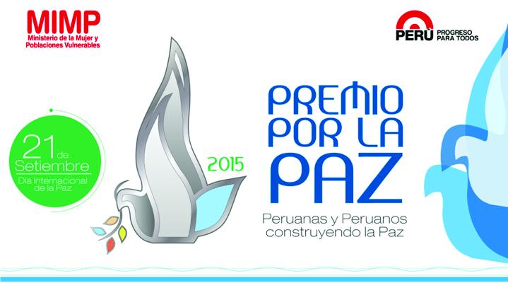 Premio por la Paz 2015