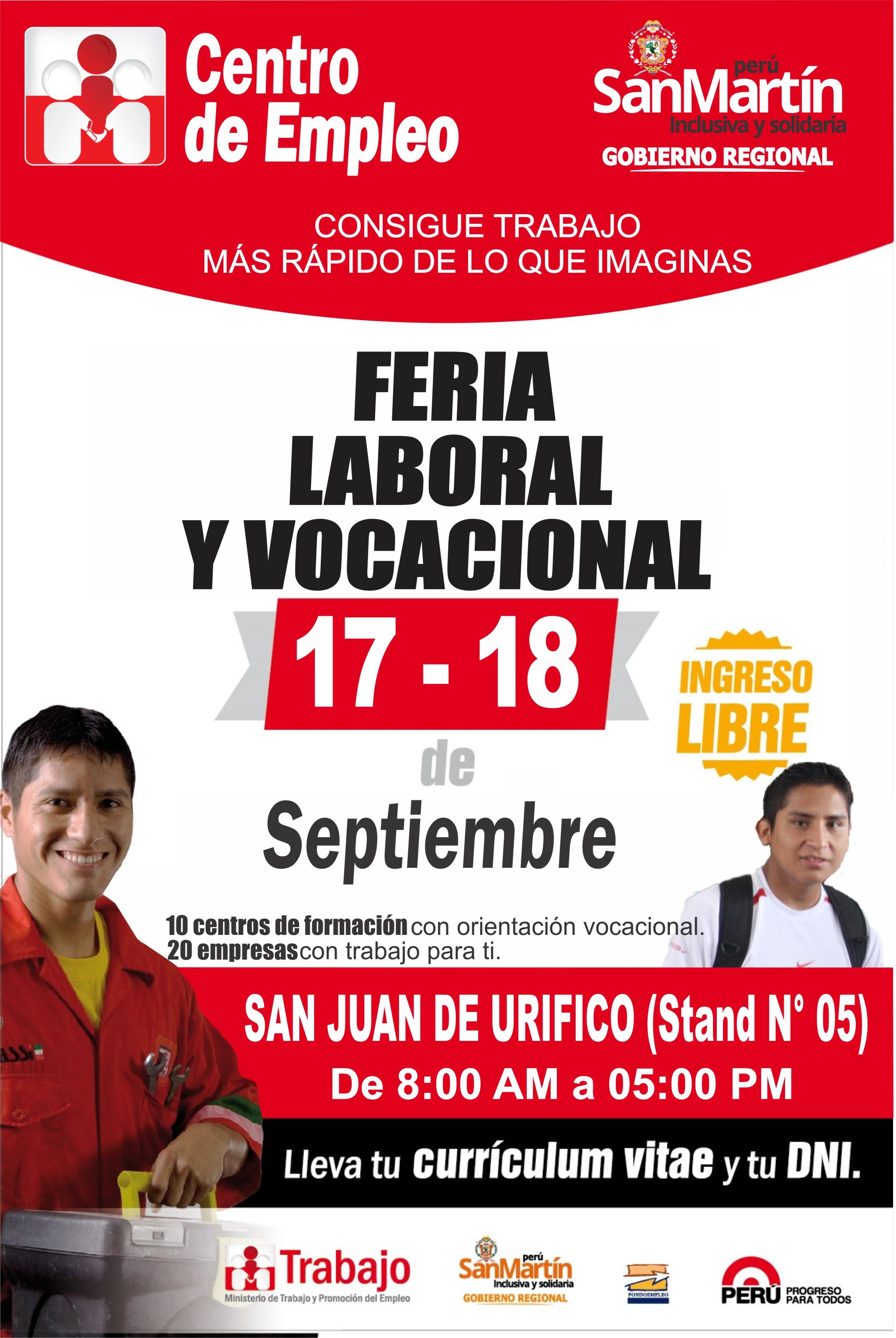 Feria Laboral y Vocacional en Rioja