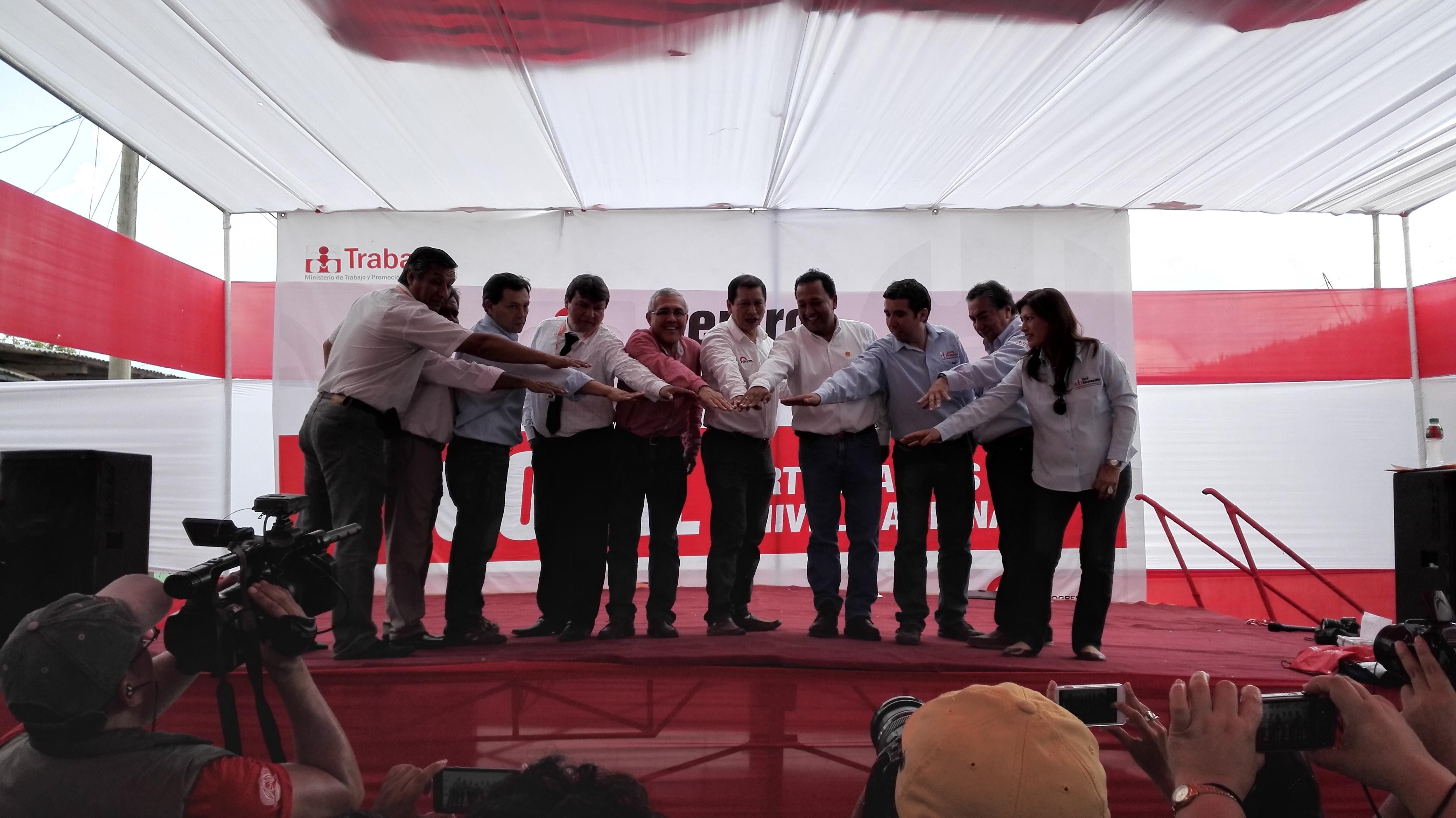 Todo un éxito resultó la II Semana del Empleo en Moyobamba