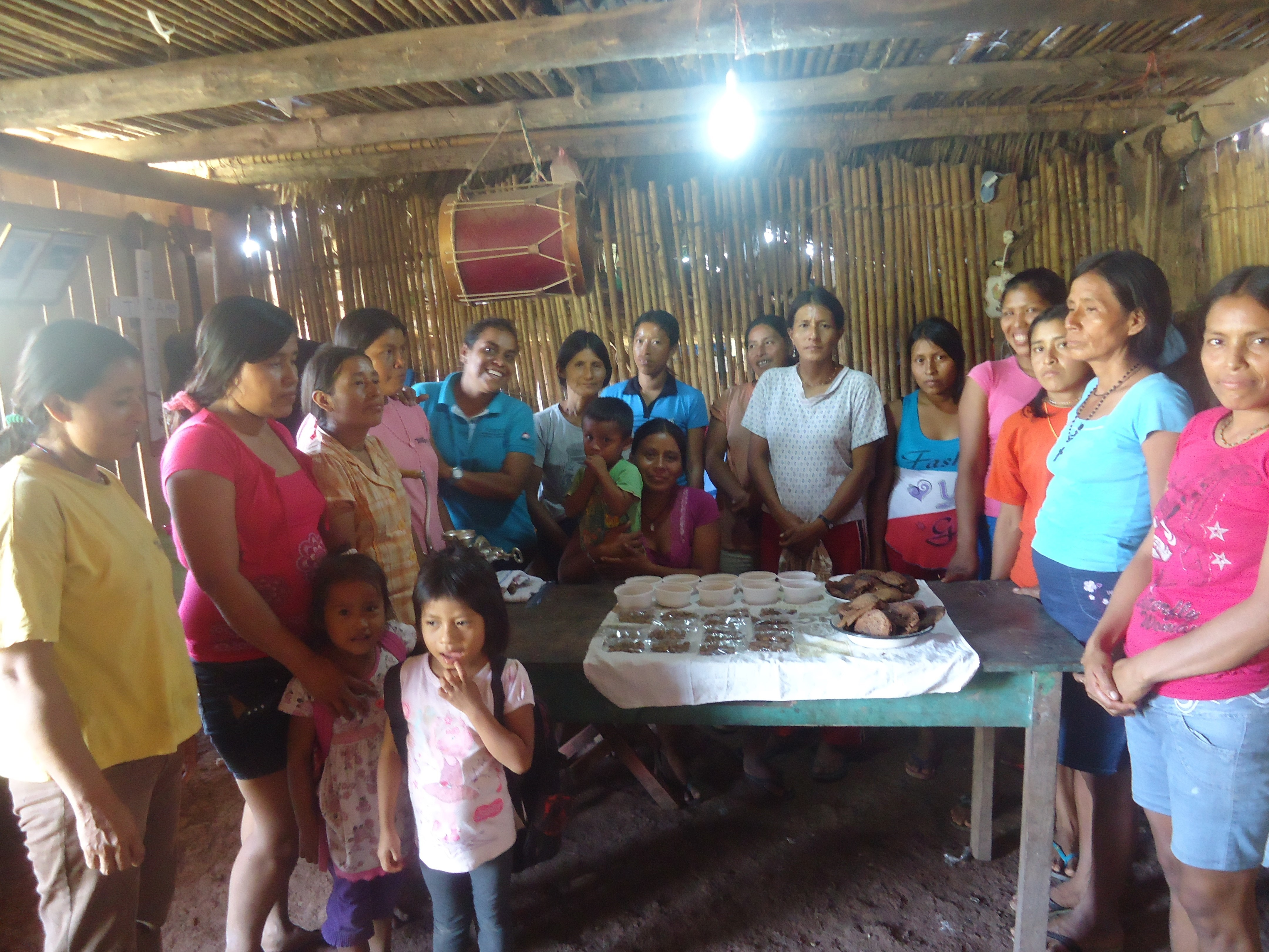 Capacitan a mujeres de la Comunidad de Morillo-Lamas en elaboración de derivados de Sacha Inchi