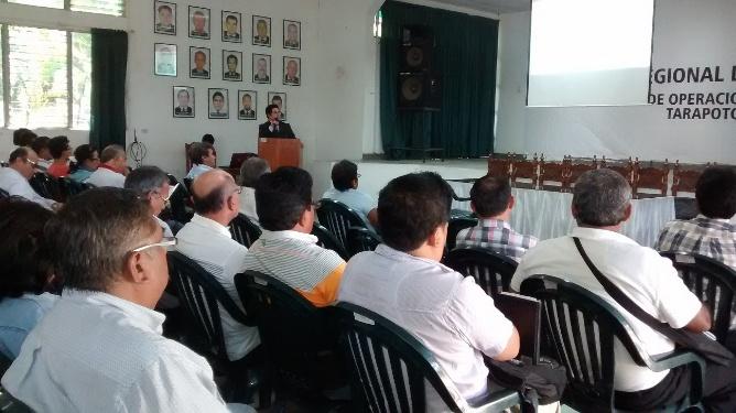 Todo un éxito fue jornada de capacitación a gremios sindicales del sector público de San Martín