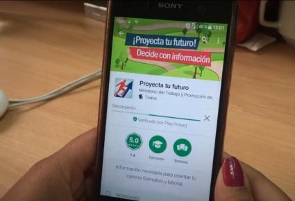 Proyecta tu futuro en tu celular