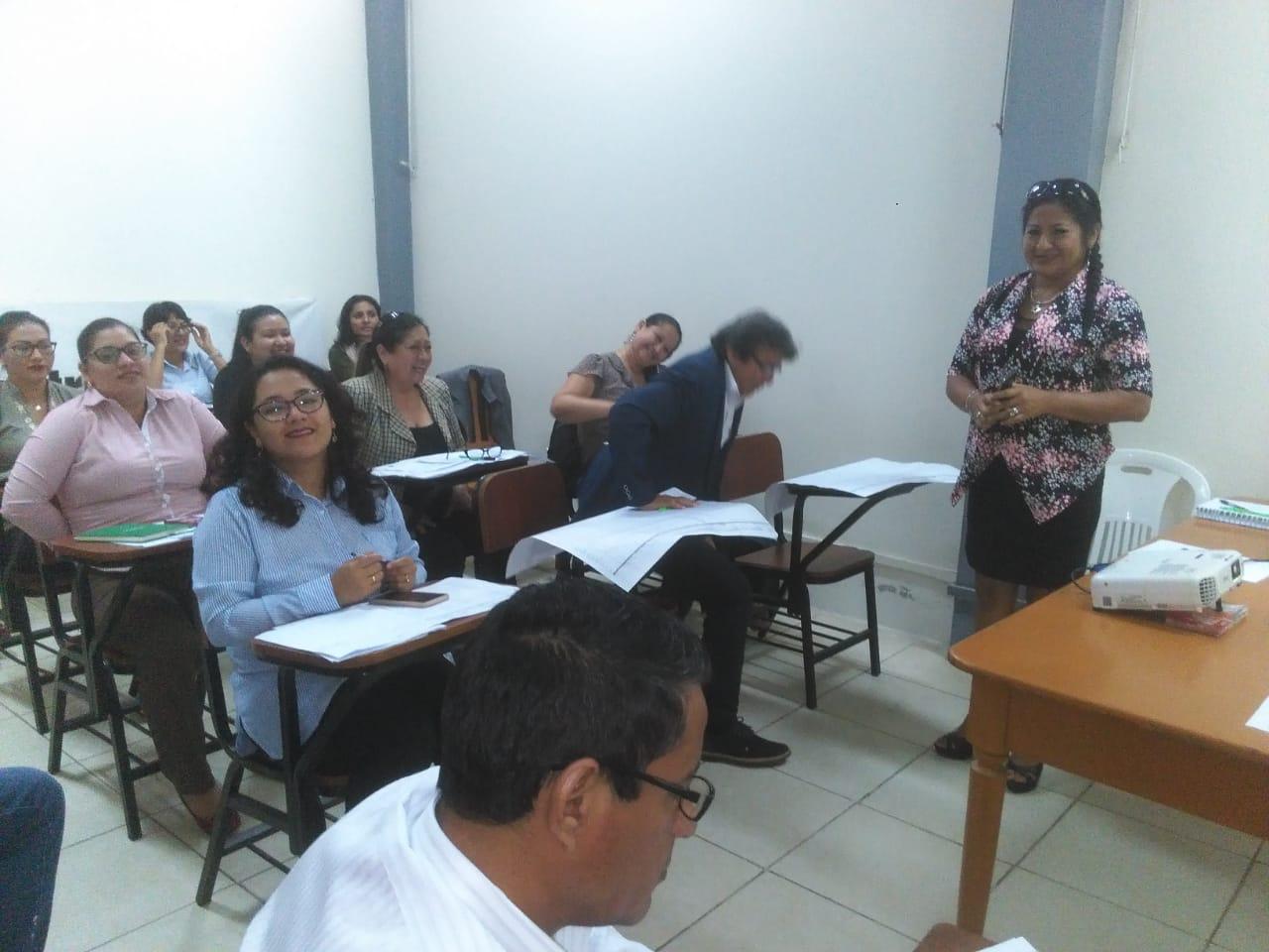 Reunión con Jefes Zonales de Tocache, Juanjui, Tarapoto y personal de la Dirección de Trabajo y Promoción y Empleo San Martín