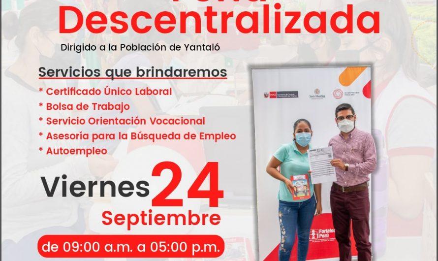 Feria descentralizada de los Servicios del Centro de Empleo
